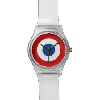 Mod French Roundel Clear Watch