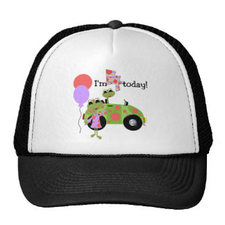 Mod Frogs 4th Birthday Tshirts and Gifts Trucker Hat