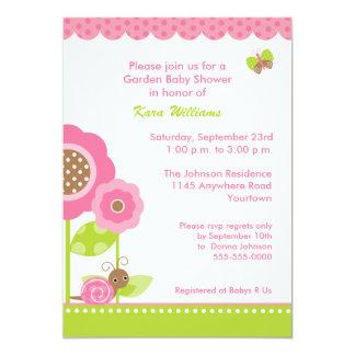 Mod Garden Baby Shower Invitation