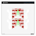 Mod Green and Red Christmas Tree Decal For PS3 Controller