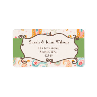 mod green, return address label