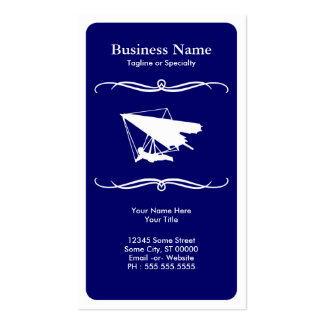 mod hang gliding business card