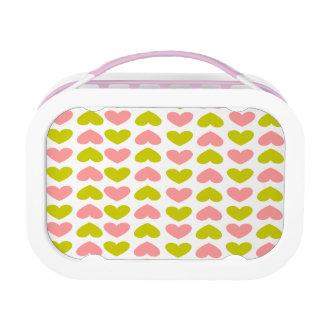 Mod Hearts Lunchbox