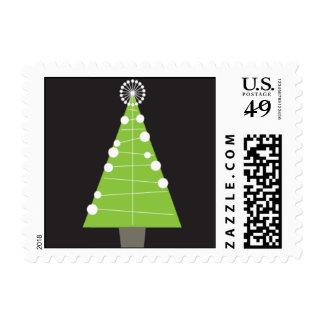 Mod Holiday Lime Postage