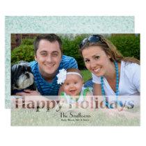 Mod Holiday Photo Cards