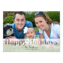 Mod Holiday Photo Cards