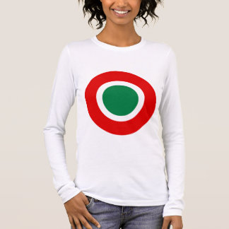 Mod Italian Roundel Women's Long-Sleeved Tee