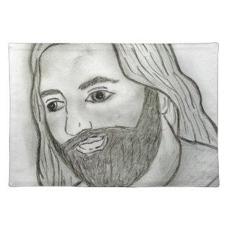 Mod Jesus Cloth Placemat