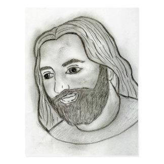 Mod Jesus Postcard