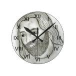 Mod Jesus Wall Clocks