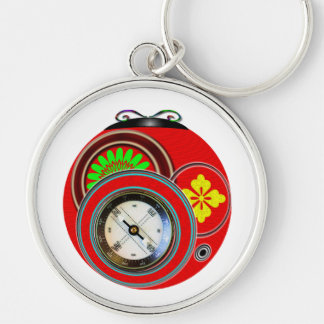 Mod Ladybug Keychains