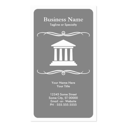 mod law business card templates