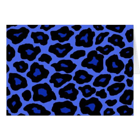 Mod Leopard Card