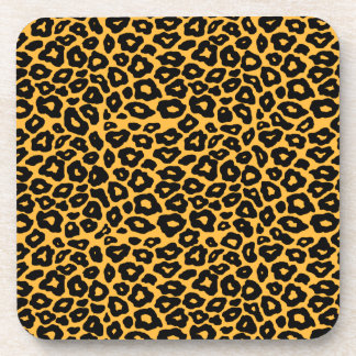 Mod Leopard Beverage Coasters