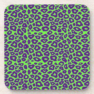 Mod Leopard Drink Coaster