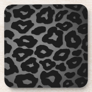 Mod Leopard Drink Coasters