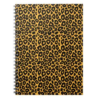 Mod Leopard Spiral Note Book