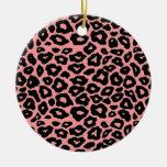 Mod Leopard Ornaments
