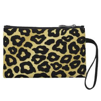 Mod Leopard Print Wristlets