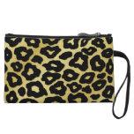 Mod Leopard Print Wristlet Clutches