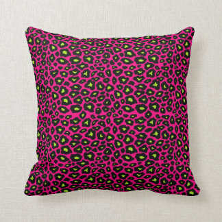 Mod Leopard Throw Pillow