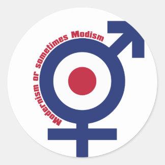 Mod_Life Classic Round Sticker