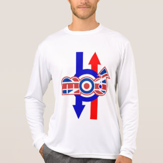 Mod Logo Target and arrows Micro performace long T Shirts