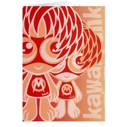 Mod Mascot Cards