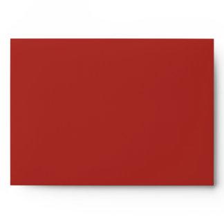 Mod Mehandi Red A7 Envelopes