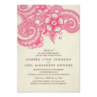 Mehndi Invitations & Announcements | Zazzle