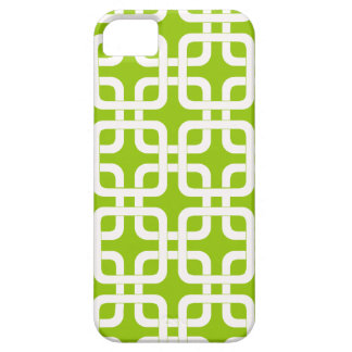 Mod Mid-Century Modern Rounded Corner Square Retro iPhone SE/5/5s Case