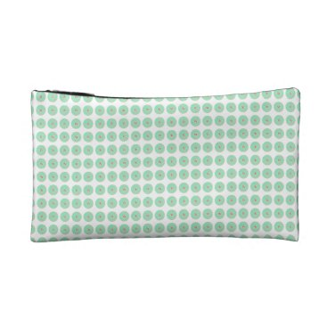 Professional Business Mod-Mint-Flora-Stylish-Cosmetic-Travel-Accessories Makeup Bag
