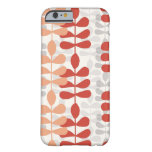 Mod Modern Fern Leaf Graphic Design Pattern Cases Barely There iPhone 6 Case
