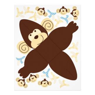 "Mod Monkey Favor Box B 8.5"" X 11"" Flyer"