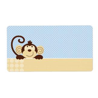 Mod Monkey Name Tag Label
