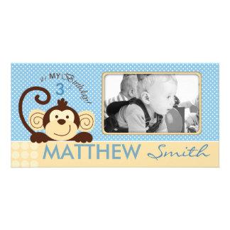 Mod Monkey Photo Card