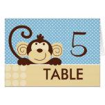 Mod Monkey Table Card