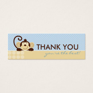 Mod Monkey TY Skinny Gift Tag