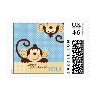Mod Monkey TY Stamp