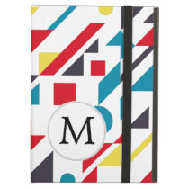 Mod Monogram Geometric Patterns Case For iPad Air