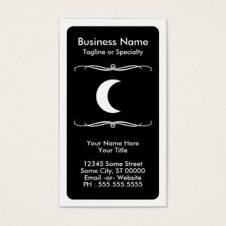 mod moon business card