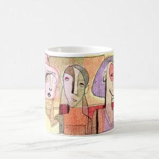 MOD MUG #14 - Contemporary Abstract Figurative Art