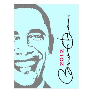 Mod Obama 2012 Postcard