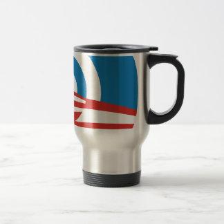 Mod Obama Logo Stainless Steel Travel Mug