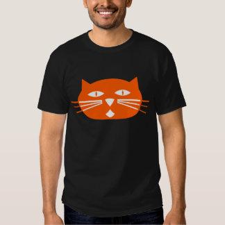 Mod Orange Cat T-Shirt