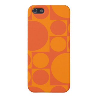 Mod Orange Dot Iphone Case