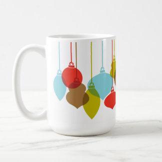 Mod Ornaments Retro Christmas Mug
