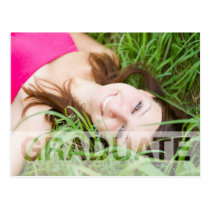 Mod Overlay Graduation photo card