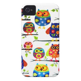 Mod Owls  Iphone 4 Case