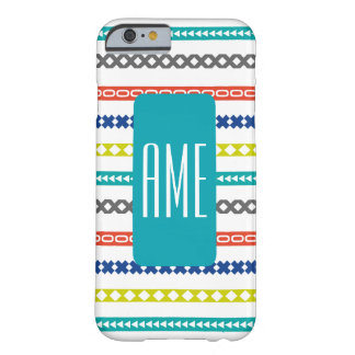 Mod Pattern iPhone 6 Case with Monogram